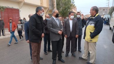 صورة عامل إقليم بولمان و وكيل الملك بميسور يعزيان أسرة الفتاة التي راحة ضحية بمدينة أوطاط الحاج