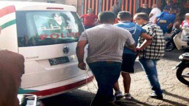 صورة الأمن يتصدى لخطر محسوبين على فصيلين متنافسين لمشجعي كرة القدم